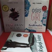 Paket tiga novel pangeran kelas osis girl dan troublemaker kakak kelas