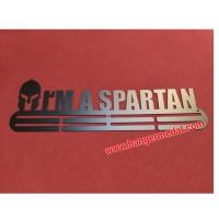 MEDAL HANGER - GANTUNGAN MEDALI - I am a Spartan