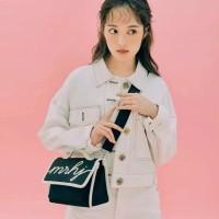 Tas wanita cewek branded import fashion slingbag mini Marhen J Sunny