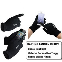 HSI Iglove Sarung Tangan Motor Ojol Touch Screen HP Android Iphone