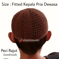 [Ready Stok] Peci / Kopiah Rajut Handmade