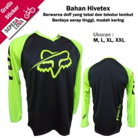 Jersey Sepeda Baju Kaos Bahan Premium MTB XC DH Downhill