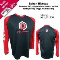 Jersey Sepeda Baju Kaos Bahan Premium MTB XC DH Downhill Polygon