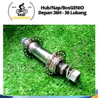 Hub Genio / Bos Sepeda / Nap Depan Genio L36 - Lubang 36