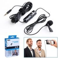 Dual Mic Clip On Boya BY-M1DM / BYM1DM / BY M1DM / Microphone / Ori