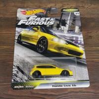 Hot Wheels Fast Furious Tuners Honda CIVIC EG F JDM FNF hotwheels