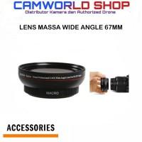 Converter Massa 67mm Professional 0.45x wide angle