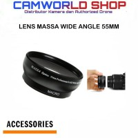 Converter Massa 55mm Professional 0.45x wide angle