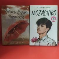 Paket dua novel mozachiko ketika hujan menangis