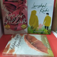 Paket tiga novel dear allah langkah kaki ketika hujan menangis