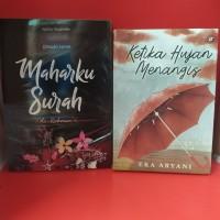 Paket dua novel maharku surah ar rahman ketika hujan menangis