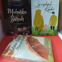 Paket tiga novel maharku surah ar rahman langkah kaki ketika hujan men