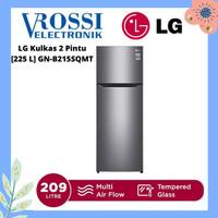 LG Kulkas 2 Pintu [225 L] GN-B215SQMT - Dark Graphite Steel