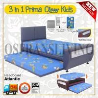 Guhdo Springbed Anak 3 In 1 Prima Clever Kids Fullset Atlantic / Ideal