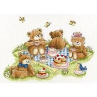 Paket Kristik Original / Asli Bothy Threads - XMS18 Teddy Bears Picnic