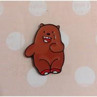 Magnet Jarum - Grizzly Bear Kecil