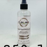 Hand Sanitizer 250ml / Aseptic Gel Spray Clin Med