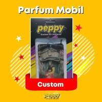 Parfum mobil Gantung Custom foto / logo