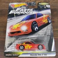 Hot Wheels Fast Furious Tuner Mazda RX 7 FDJDM FNF hotwheels