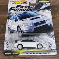 Hot Wheels Fast Furious Tuner 2016 Subaru WRX STI JDM FNF hotwheels