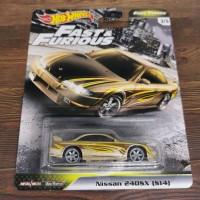 Hot Wheels Fast Furious Tuner Nissan 240SX S14 JDM FNF hotwheels