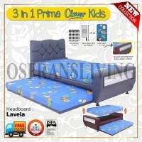 Guhdo Springbed Anak 3 In 1 Prima Clever Kids Fullset Lavella