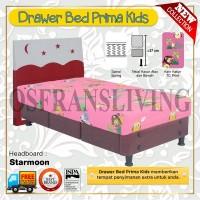 Guhdo Springbed Anak Prima Kids Drawer Laci Fullset Starmoon