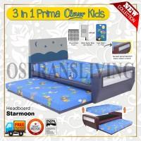 Guhdo Springbed Anak 3 In 1 Prima Clever Kids Fullset Starmoon
