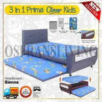 Guhdo Springbed Anak 3 In 1 Prima Clever Kids Fullset Sienna
