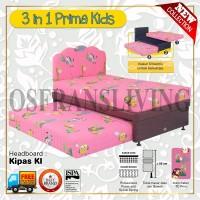 Guhdo Springbed Anak 3 In 1 Prima Kids Fullset Kipas