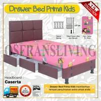 Guhdo Springbed Anak Prima Kids Drawer Laci Fullset Caserta