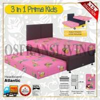 Guhdo Springbed Anak 3 In 1 Prima Kids Fullset Atlantic / Ideal