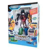 Tobot Magma 6 Stage Integration Mainan Mobil Robot Anak Laki Laki