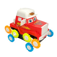 Mobil Jungkir Balik Tip Lorry 12 Roda Bonus Baterai - Random