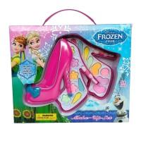 Make Up Sepatu Frozen 2 Susun Mainan Cosmetic Anak