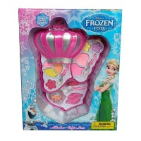 Make Up Mahkota Frozen 3 Susun Mainan Cosmetic Anak