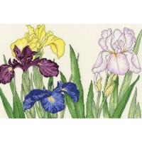 Paket Kristik Original / Asli Bothy Threads - XBD14 Iris Blooms