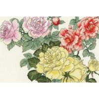 Paket Kristik Original / Asli Bothy Threads - XBD13 Rose Blooms