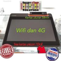 Mesin Kasir Sunmi T2 Mini Wifi + 4G + Aplikasi Qasir Gratis selamanya