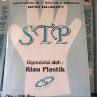 Sarung tangan plastik STP 1 pak 200 pcs