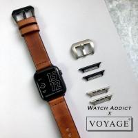 original voyage strap apple watch iwo samsung tali jam kulit asli