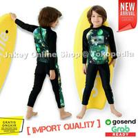 Baju Renang Lengan Panjang Anak Laki-Laki Cowok Baju Diving Anak SD