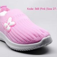 Sepatu Anak Slip On Tanpa Tali kode 68