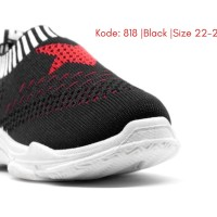 Sepatu bayi Slip On Sepatu Anak Tanpa Tali Import Kanvas Kain Kode 818