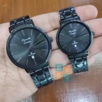 jam tangan Alexandre Christie full black Pria Wanita Kualitas Origina