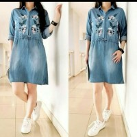 dress jeans bordiran