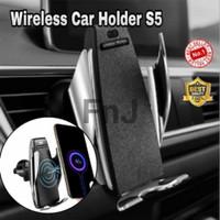 Holder care wireless S5 fast charging auto open smart sensor