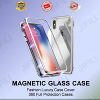 Samsung S10/S10plus/S10E magnetic galss premium 2in1 case