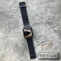strap apple watch iwatch iwo samsung fitbit milanesse Black