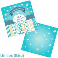 Gift Card Baby Boy & Girl / Kartu Ucapan Bayi